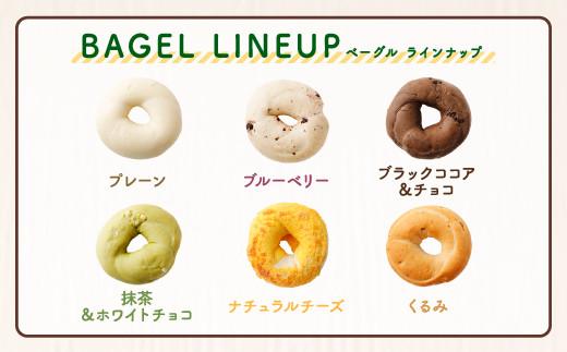 <6ヵ月定期便> ルコラ 人気 ベーグル 詰合せ 15個 セット パン