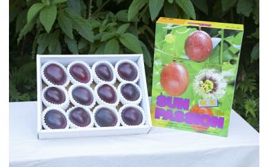 【6月~出荷】1kg(12個入り)奄美大島産パッションフルーツ贈答用【化粧箱入り・熨斗可】
