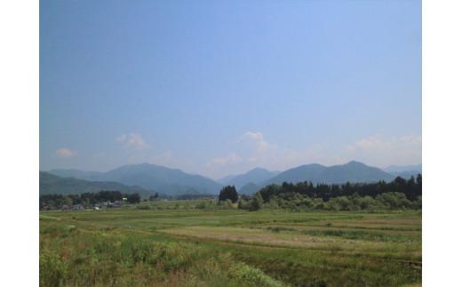 熱塩加納町は緑豊かでのどかな町です。