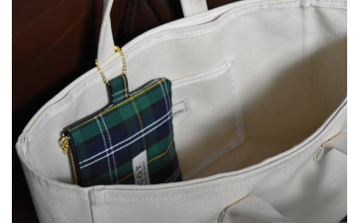 ポーチはバッグインバッグとしても使用可能です♪