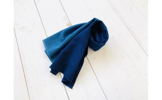 IBB32 藍染手拭い 縦グラデーション3色