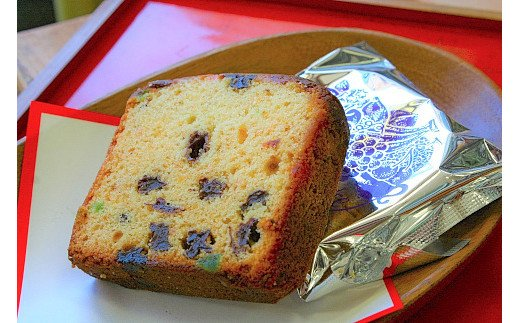 A-073 ブランデーケーキとフルーツケーキセット【ほんのり香るアルコール◎大人のケーキです!】