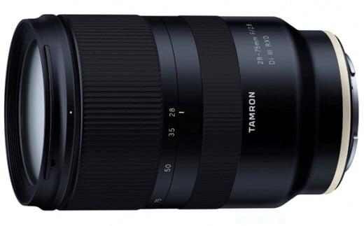 【11100-0081】タムロン ミラーレス一眼用交換レンズ 28-75mm F2.8 Di III RXD(ソニーEマウント用) Model:A036SF