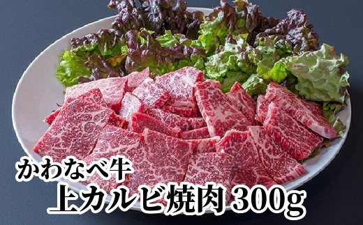 023-21 かわなべ牛上カルビ焼肉300g