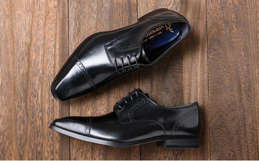 [№5990-0137]倭イズム 牛革マッケイビジネスシューズ紳士靴YAP500(ブラック)