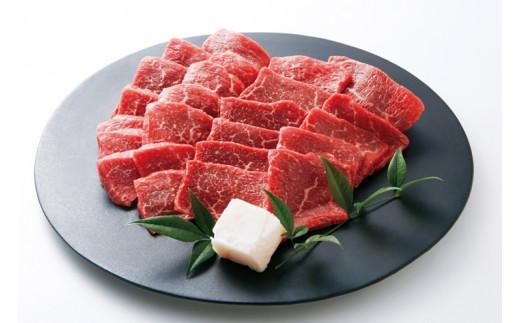 10-1 【冷蔵】特選 黒田庄和牛(焼肉用赤身モモ、300g)