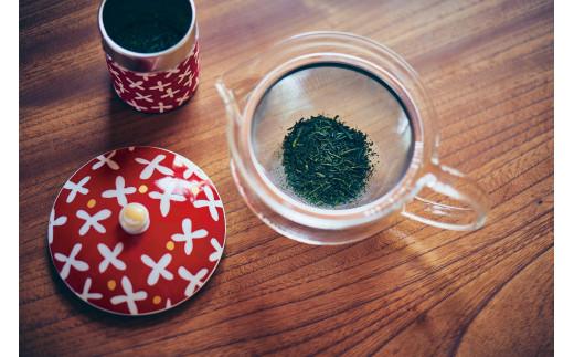京都テキスタイルブランド「SOU・SOU」すずしろ草茶器セット  n01126