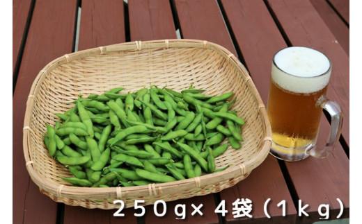 【9月下旬受付終了】採れたて新鮮!!高山村の名産枝豆 1kg