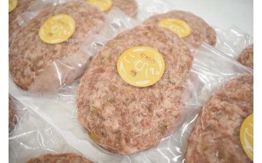 神栖市育ちのおいしい豚肉 「昭和のこむぎ豚」 ハンバーグ 200g×12個