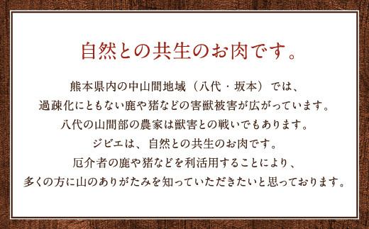 わんちゃん用 鹿生サイコロステーキ ジビエ 300g×3 計約900g