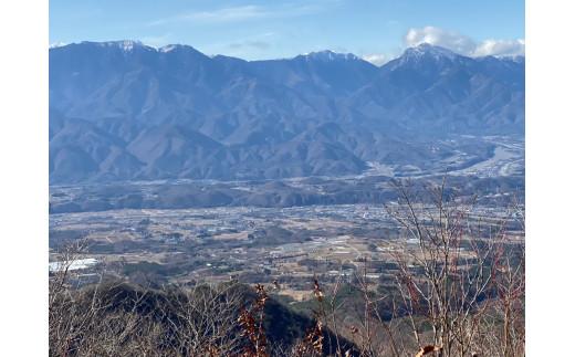 茅ヶ岳山頂からの南アルプス