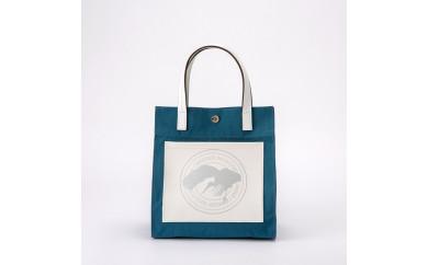 豊岡鞄ミニトートバックCCNE-002(ブルー)