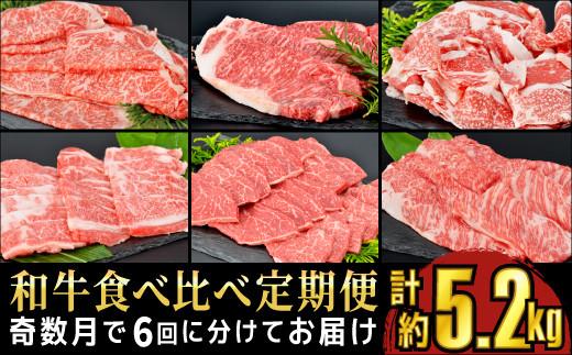 TK6-1 川合精肉店福島牛食べ比べ定期便 【奇数月で6回に分けてお届け】