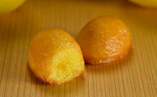 果汁たっぷりコロコロ『プチレモンケーキ』8個