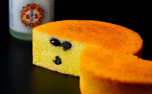 三国・風の寄りみち 筑前黒豆焼酎ケーキ
