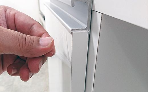 ※家具前面には傷防止の保護シートを貼っておりますので、剥がしてお使いください。