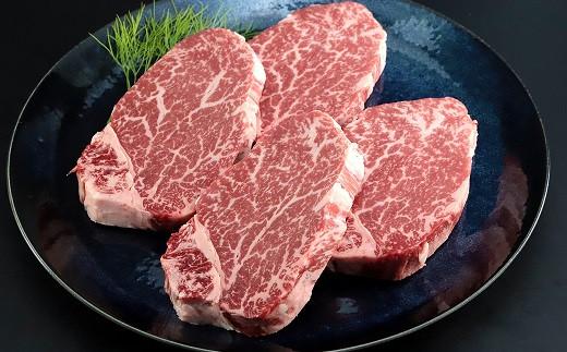 極上但馬牛ヒレステーキ100g×4枚 細やかな甘いサシが特徴です!