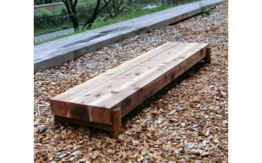 [№5221-0109]埼玉県産西川材のウッドデッキ・ガーデンウッズ