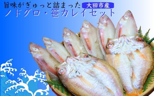 B272 ノドグロ・笹カレイセット
