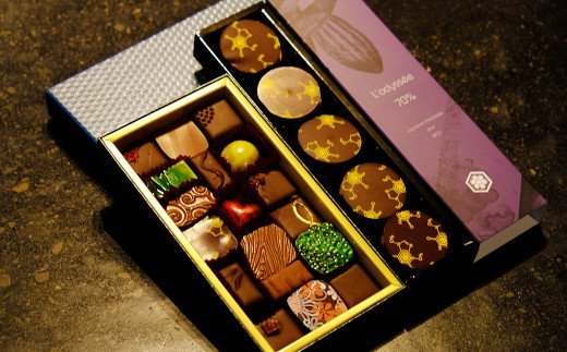 【ヴァローナ認定エキスパート】オリジナルチョコレート「ロデッセ」&ボンボンショコラ