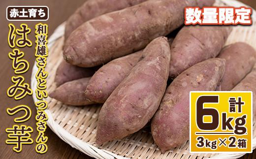和喜雄さんといつみさんのはちみつ芋3kg×2ケース_iio-391