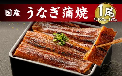 鹿児島産 うなぎ の 蒲焼き 1本 約150~180g 老舗130年の味