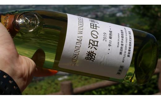 蒼龍葡萄酒(株)「勝沼の甲州  樽熟成」(白・甲州種・辛口・720ml)