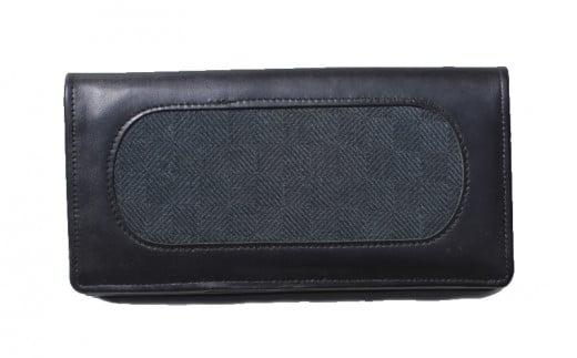 コザ工芸館ふんどぅ[藍染]長財布:二つ折り(琉球藍染)