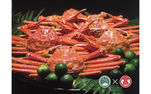 70-AA3 茹で蟹セット(約700g×2枚)(大山ブランド会)