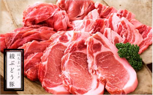 36-97_綾ぶどう豚食べ尽くしセット&ぶどう豚ハンバーグ
