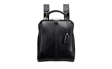 豊岡鞄 YOUTA ELK 3WAYダレス MINI(YK60)ブラック・スカイ・トープ