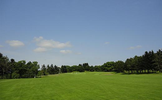 札幌エルムカントリークラブ西コース平日午後限定キャディー付きゴルフプレー券(2名)【26001】