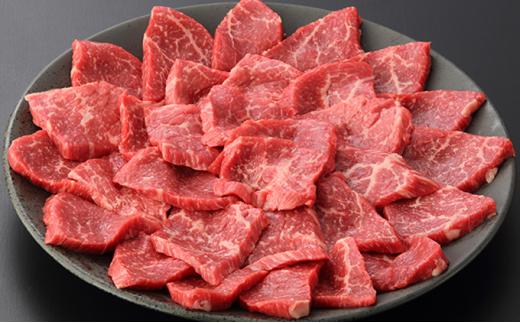 [№5226-0070]【数量限定】見蘭牛もも焼肉用 400g