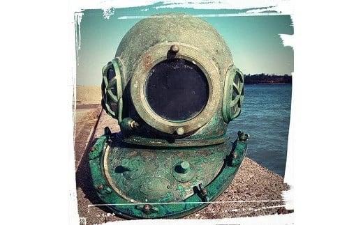 ヘルメット式潜水法用ヘルメット