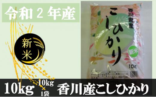 996 令和2年産香川県産こしひかり 10kg 紙袋配送