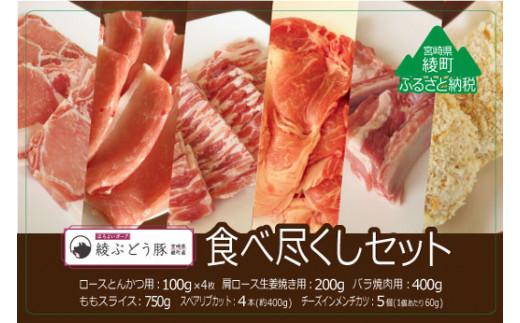 36-81_綾ぶどう豚食べつくし6種セット