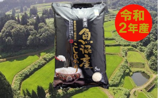 魚沼産コシヒカリ・棚田米 白米5kg