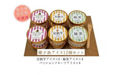種子島アイスセット12個【乳化剤・安定剤不使用】
