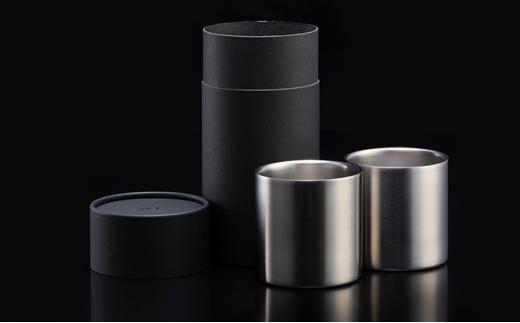 [№5900-0311]ステンレス製タンブラーグラス ノーマル78mm 2個セット