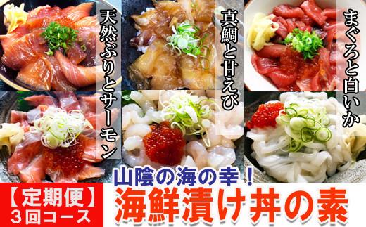 TY01:【定期便】人気の丼の素シリーズ(3回お届け)