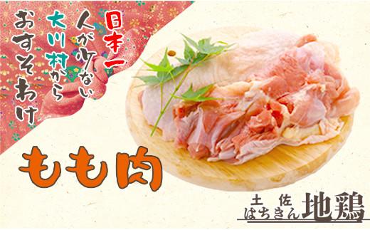 地鶏 土佐はちきん地鶏もも肉 1kg(500g×2パック)