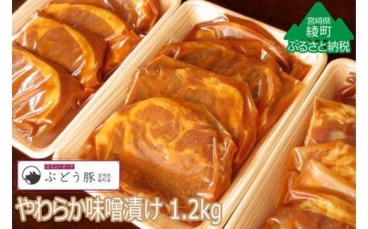 36-79_『綾ぶどう豚』やわらか味噌漬け1.2kg