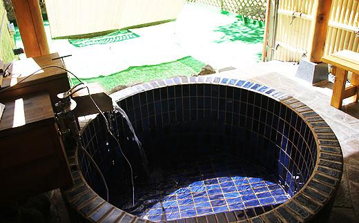 ペット専用客室付き露天風呂