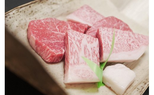 18-8【冷凍】神戸ビーフ牝(ステーキ小間、300g)<川岸牧場直営>