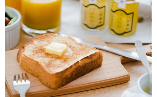 バターと一緒にパンにのせて