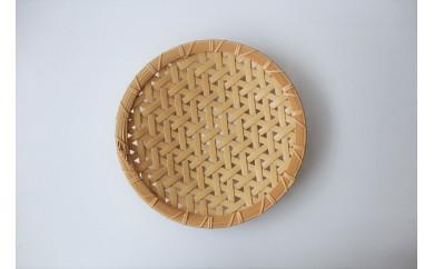 竹製盛り皿(麻の葉)