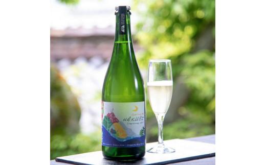 AE-5 岡山ワインバレーのSparklingHAKUBI(スパークリング白ワイン・辛口)東京ワイナリー醸造
