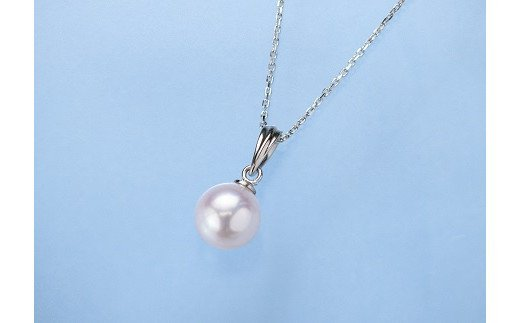 C01-101 真珠ペンダント【宇和島産あこや真珠】