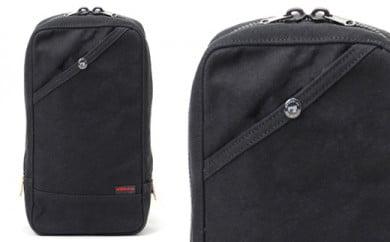 ワンショルダー 豊岡鞄 Stitch-on RUDE ボディバッグ 52222(ブラック、ベージュ)