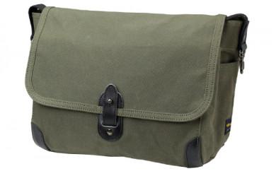 横型ショルダーバッグM 豊岡製かばん Stitch-on 52204(ベージュ、グリーン、ネイビー)
